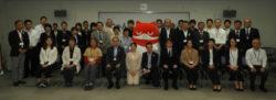 栃木マルハン合同、社会貢献活動「にゃんまるのわ」寄付金贈呈式を開催