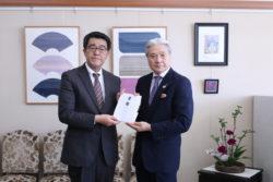 ダイナムが7県に台風復興支援として3千万円余りを寄付
