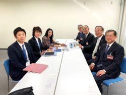 中国地区各県理事長が広島国税局を訪問、確定申告の広報活動協力について説明