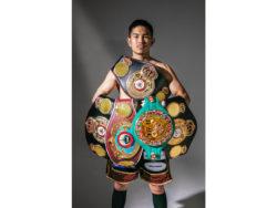 WBO世界スーパーフライ級王者の井岡一翔選手