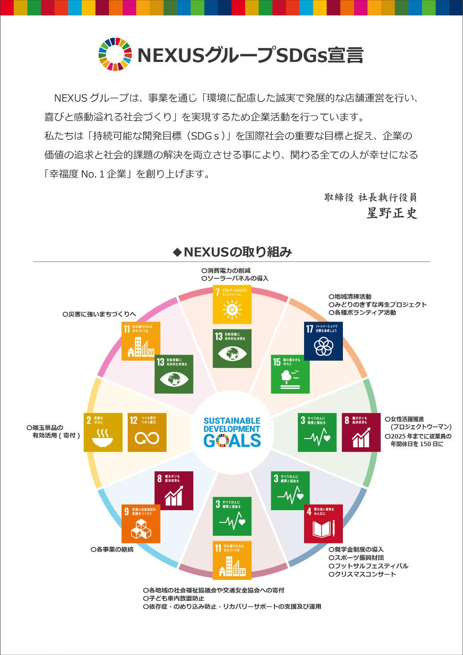 NEXUS SDGs宣言POP