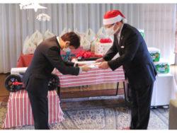 成通グループ児童養護施設にクリスマス訪問1(2)
