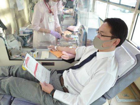 ユーコーラッキー国分店献血活動