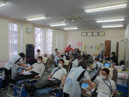 中部遊商 献血活動