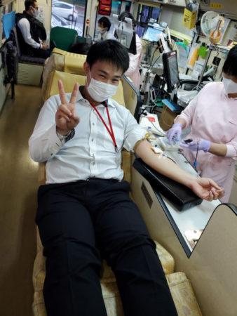 アサヒディード 献血