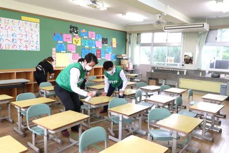 高知県土佐市高石小学校(ダイナム高知土佐店従業員)