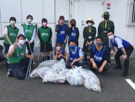<山口県>株式会社プローバ、ヤマト運輸との共同清掃活動