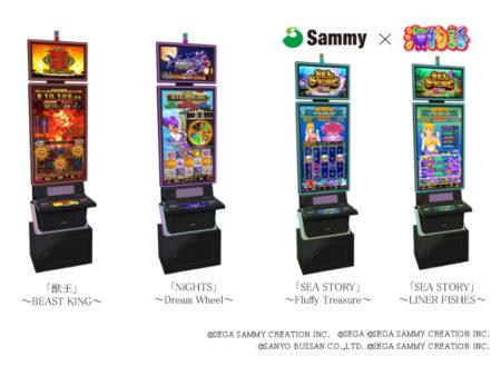 サミー_ビデオスロットゲーム開発